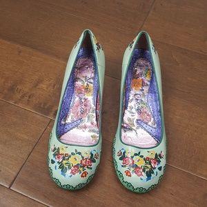 1ac130a37d6 Irregular Choice Floral Kitten Heel
